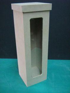 caja de vino mdf Bottle Box, Bottle Carrier, Jam Packaging, Packaging Design, Milk Box, Small Bottles, Gift Baskets, Liquor, Arts And Crafts
