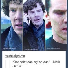 another one of the awesome facts about Benedict :) although if he did this in front of me I would most likely die.