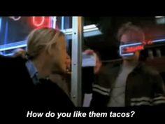 Matt Damon loves tacos.