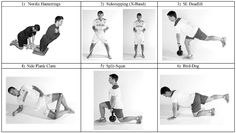 Hamstring Exercises » Health And Fitness Training