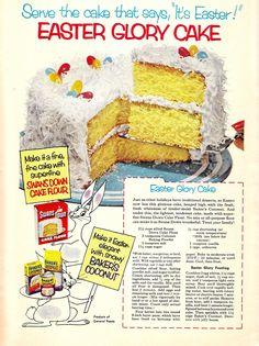 Easter Glory Cake
