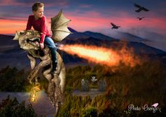 Fairytale shoot with a dragon by Photo Osenga