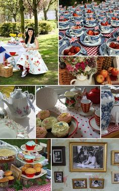 retro 50's wedding ideas | The 50s Style Wedding Blog: 50s Wedding Decorations