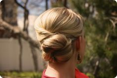 Quick up do with a tutorial