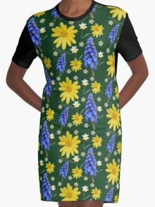 Now that spring is here Graphic T-Shirt Dress 20% off today use code CARPE20 #redbubble #newfromredbubble #redbubbledress #digiprint #printeddress #print #pattern #patterneddress #graphicdress #graphic #sublimation #dyesublimation #alternative #fashion #ss16 #indie #indiedesign #design #tshirtdress #minidress #women #fashion #newdress #newclothes