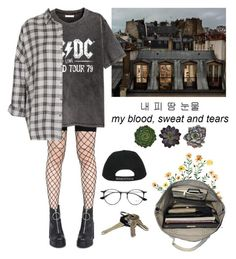 """""""Untitled #129"""" by alduque ❤ liked on Polyvore featuring Leg Avenue, H&M, Esperos, Ray-Ban, Avon and Topshop"""