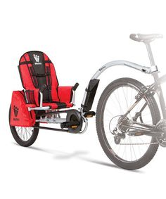 Look what I found on #zulily! iGo Pro Trailer by Weehoo >>Totally want this one our little man graduates from his bike seat.