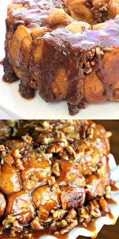 Bread Food, Yeast Bread, Bread Dishes, Best Dessert Recipes, Just Desserts, Pecan Pralines, Praline Pecans, Baking Recipes, Baking Breads