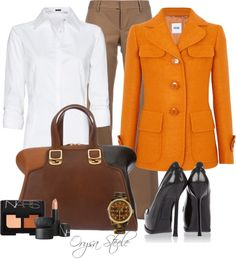 """Pumpkin Spice"" by orysa on Polyvore"