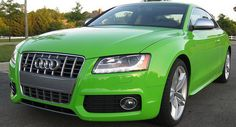 Audi-S5-Lime-Porsche-Green