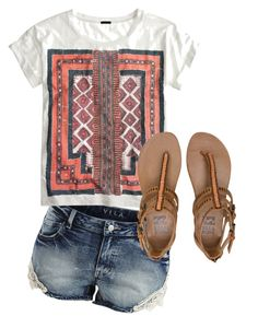 """""""Simple for Summer #2"""" by ashleykh on Polyvore"""
