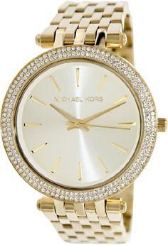 Michael Kors Women's Watch - Shiny They Are! $146.52 - You save $78.48 http://astore.amazon.com/plantofit-20/detail/B00944CZB0