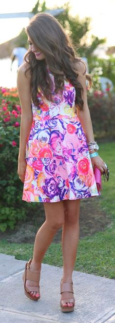 Mess Around Floral Dress