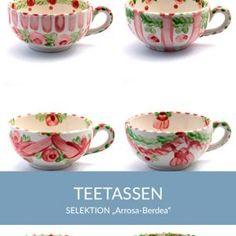 teetassen_arrosaberdea_sel Natural Selection, Tea Cups, Simple Lines, Tablewares