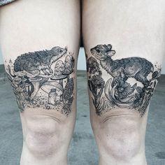 Tattoo by Pony Reinhardt