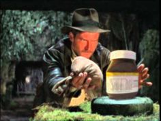Rare Indiana Jones- Nutella commercial!