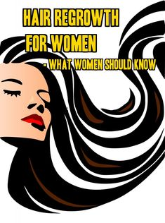 Hair Regrowth for Women- What Women Should Know --- The society adores women with long, thick, shiny and full locks and there is nothing more frustrating than dealing with hair loss problems. This problem can affect a woman's self-esteem and looks. It can bring so much emotional stress to most women. Hair regrowth for women is very important to make them feel better about their looks. #hairlosssolution #regrowhair #beauty