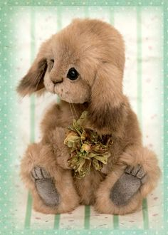 Three O'Clock Bears: Lettice Rabbit
