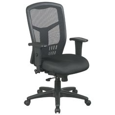 Office Star ProLine II ProGrid High Back Conference Chair With Arms