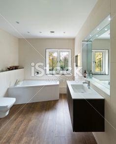 bathroom wooden floor google search