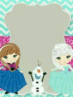 Plantilla Frozen
