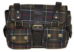 Barbour Tartan Utility Bag #Barbour #Tartan #Equestrian #Bestinthecountry