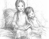 For This Child We Prayed - Art Print. $22.00, via Etsy.