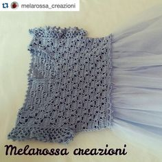 lemaddine #Repost @melarossa_creazioni with @repostapp.  Vestitino all' uncinetto con gonna in battista di cotone e tulle . Una delle novità che presenterò a Mondo Bebuù. #tulle #tulledress #crochet #cotton #girl #babygirl #youth #dress #moda #modababy #instafashion #instamoda #fashion #abbigliamento #mother #love #handmade #fattoamano #sumisura #style #stilist #uncinetto #instacrochet #instacraft #trendy #pretty #bambini #instahandmade #instagood
