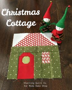 Dec 2 - Christmas Cottage
