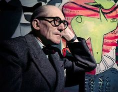 Le Corbusier in Colour - Photography by Willy Rizzo • Selectism