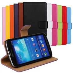 PU Leather Case For Samsung GALAXY S4 Active Book Wallet Style Magnetic Design With Card Slot Flip Stand Phone Cover Shell