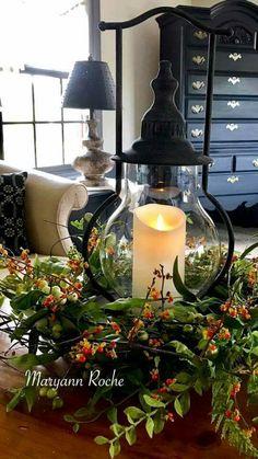 Autumn lantern by Maryann Roche