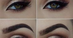 eu amo maquiagem | Maquiagem | Pinterest | Beautiful, Eyebrows and Ps