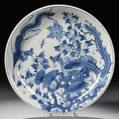 Blue and White Charger, China, Qing Dynasty