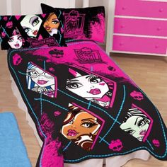 monster high bedroom ideas for girls 14 | Creeperific Ghoulroom ...