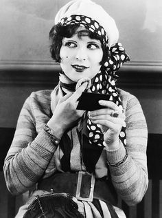 "Clara Bow, the ""it"" girl, like my Fi!"