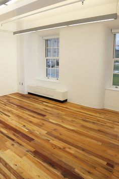 SUNY Buffalo installed American Gothic - Mixed Hardwoods to liven a new academic space. American Gothic, Buffalo, Hardwood Floors, Minimalism, The Originals, Space, Design, Wood Floor Tiles, Floor Space