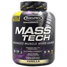 Performance Series Mass Tech, Vanilla 7 lb, Muscletech, Weight Gain #bodybuilding #sport #sportsnutrition #gym #weight_gain https://monsternbeast.com/shop/performance-series-mass-tech-vanilla-7-lb-muscletech-weight-gain/