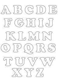molde de letras - Pesquisa Google