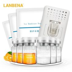 LANBENA Vitamin C Serum Lyophilized Powder Set Moisturizing Whitening – lanbena.official