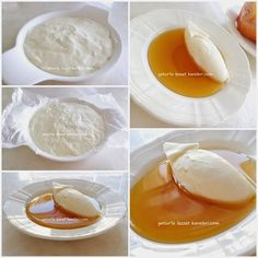 Served at breakfast in Turkey: ev yapımı taze kaymak Turkish Sweets, Turkish Kitchen, Sweet Recipes, Healthy Recipes, Clotted Cream, Turkish Recipes, Fresh Fruits And Vegetables, Mediterranean Recipes, Cookie Recipes