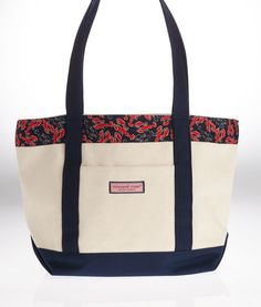 Women's Tote Bags: Lobster Classic Tote for Women - Vineyard Vines