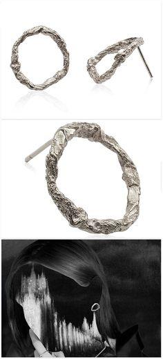 Circle Earrings 'Illusion'