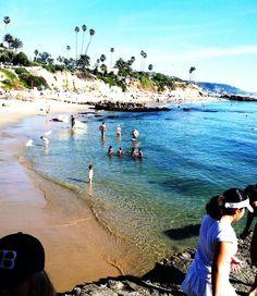 Diver's Cove- Laguna Beach, California. Spent my summer's here.