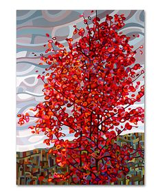 Another great find on #zulily! Mandy Budan Passing Storm Gallery-Wrapped Canvas by Trademark Global #zulilyfinds