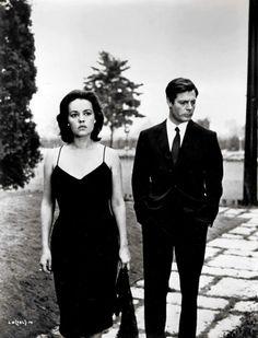 Mastroianni & Moreau - la Notte (Antonioni, 1961)