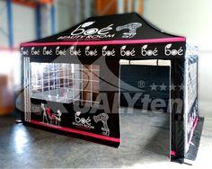 Carpa plegable de 3x4.5m Premium con rotulación digital full print para Boé Cosmetics Beauty Room, Cosmetics, Digital, Carp