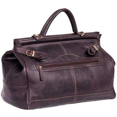 Buckingham Gladstone Leather Holdall