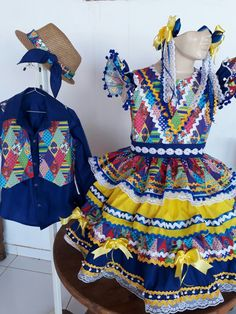 Vestidos juninos e festa luxo #mariacleoneleite