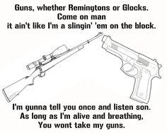 guns... justin moore